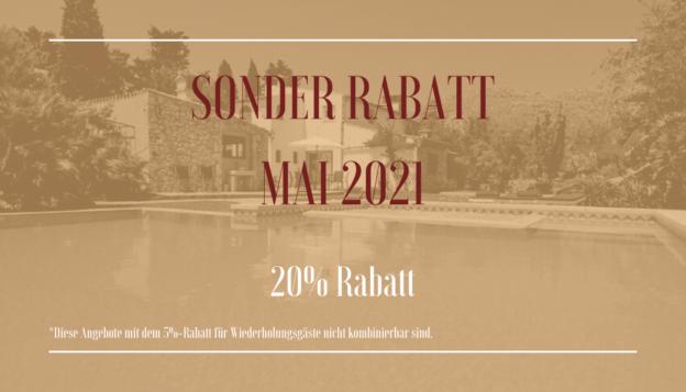 SONDER RABATT MAI 2021